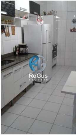 Apartamento, código 366 em Santos, bairro Embaré