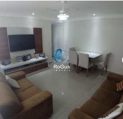 Apartamento, código 462 em Santos, bairro Macuco