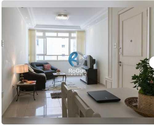 Apartamento, código 486 em Santos, bairro Gonzaga
