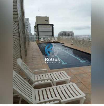 Apartamento, código 488 em Santos, bairro Gonzaga