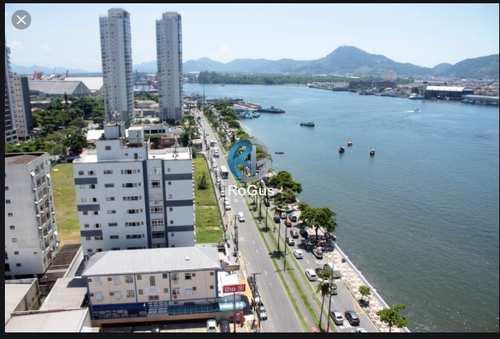 Apartamento, código 526 em Santos, bairro Ponta da Praia