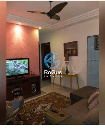 Apartamento, código 532 em Santos, bairro Aparecida