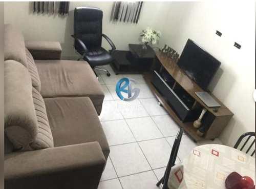 Apartamento, código 605 em Santos, bairro Marapé