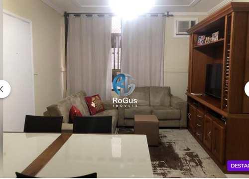 Apartamento, código 608 em Santos, bairro Aparecida