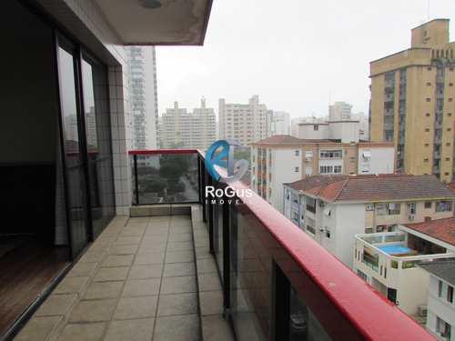 Apartamento, código 611 em Santos, bairro Embaré