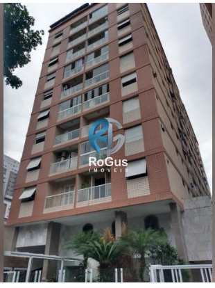 Apartamento, código 639 em Santos, bairro Gonzaga
