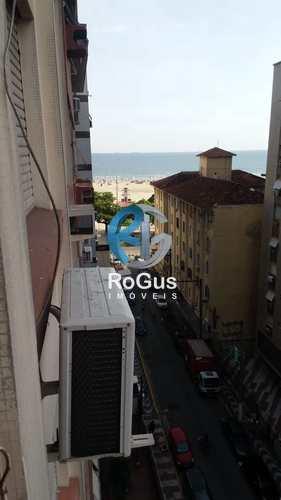 Apartamento, código 727 em Santos, bairro Pompéia