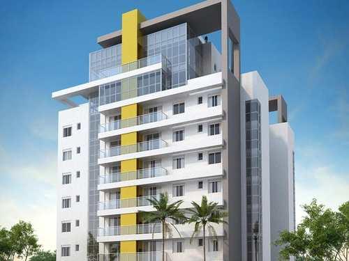 Apartamento, código 3 em Praia Grande, bairro Ocian