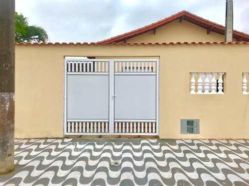 Casa, código 54 em Mongaguá, bairro Balneário Itaguai