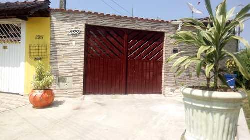 Casa, código 75 em Mongaguá, bairro Balneário Itaóca