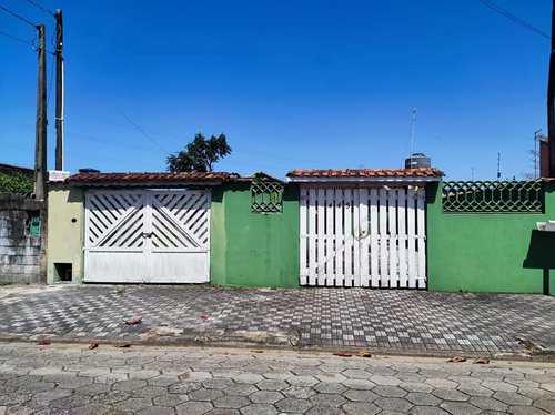 Casa, código 128 em Mongaguá, bairro Balneário Jussara
