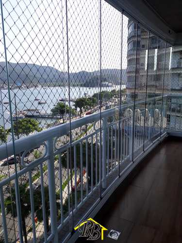 Apartamento, código 61523829 em Santos, bairro Ponta da Praia