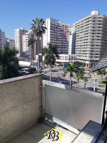 Apartamento, código 61523840 em Santos, bairro Gonzaga
