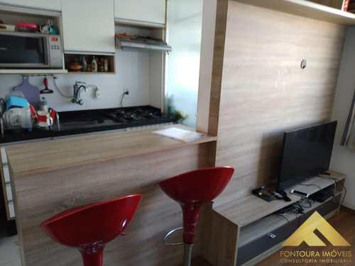 Apartamento, código 4 em Diadema, bairro Canhema