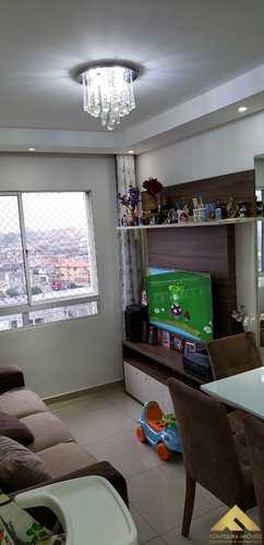 Apartamento, código 40 em Diadema, bairro Canhema