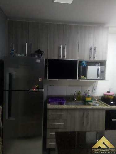 Apartamento, código 51 em Diadema, bairro Canhema