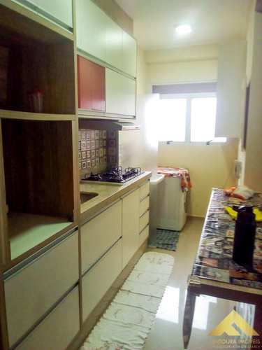 Apartamento, código 71 em Diadema, bairro Canhema