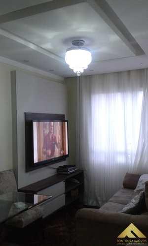Apartamento, código 108 em Diadema, bairro Canhema