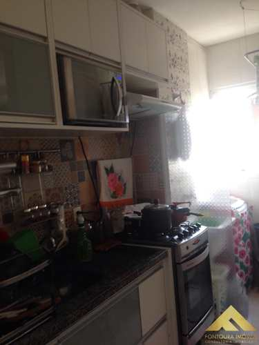 Apartamento, código 165 em Diadema, bairro Canhema