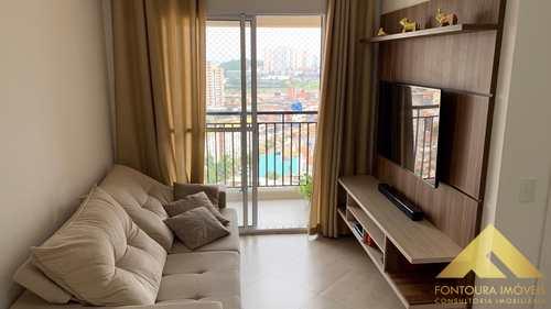 Apartamento, código 396 em São Bernardo do Campo, bairro Jardim Olavo Bilac