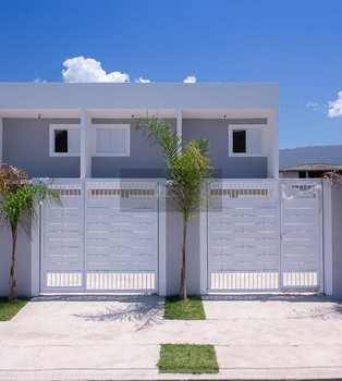 Sobrado de Condomínio, código 646 em Caraguatatuba, bairro Balneário Gardem Mar