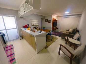 Apartamento, código 695 em Caraguatatuba, bairro Sumaré