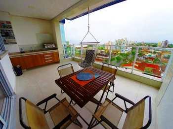 Apartamento, código 859 em Caraguatatuba, bairro Indaiá