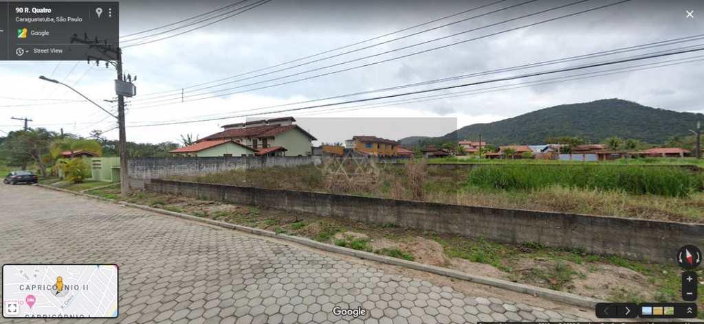 Terreno em Caraguatatuba, no bairro Recanto Som do Mar