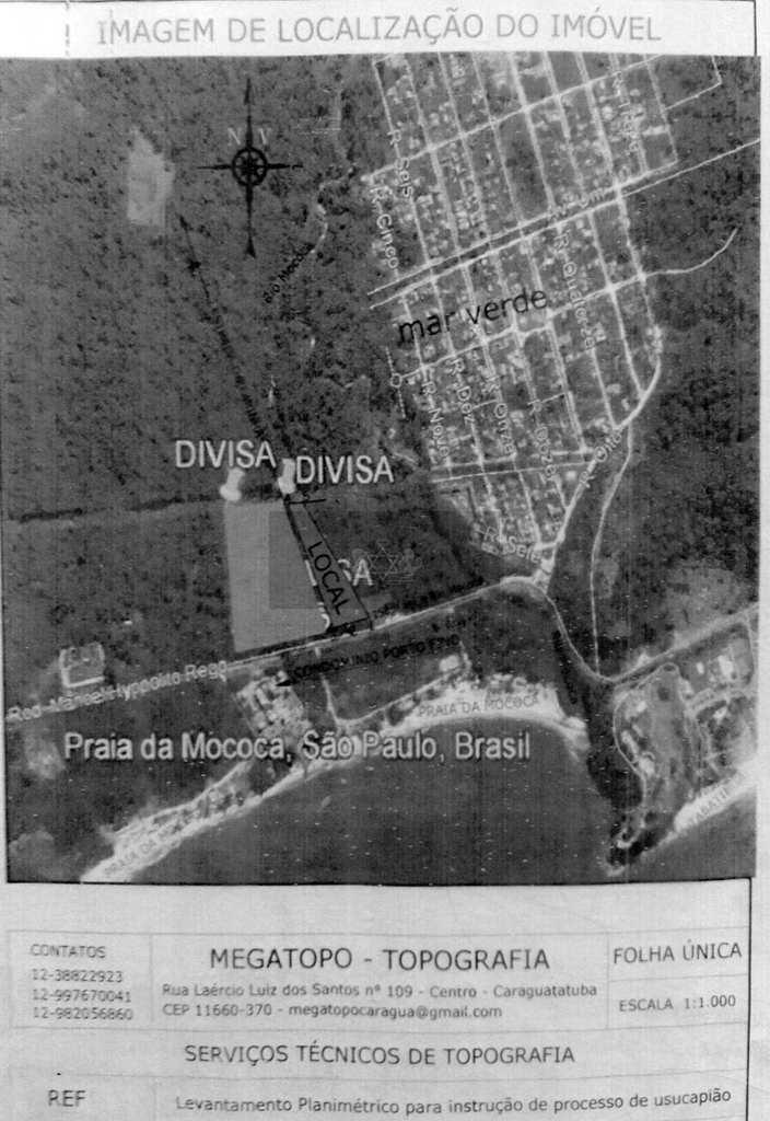 Área Comercial em Caraguatatuba, no bairro Praia da Mococa