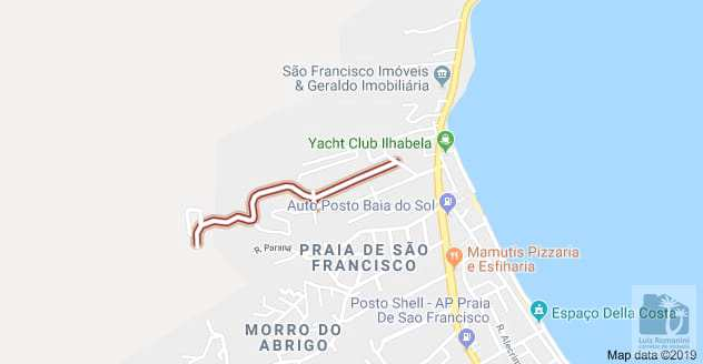 Terreno em São Sebastião, no bairro São Francisco da Praia