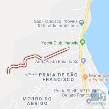 Terreno em São Sebastião, bairro São Francisco da Praia