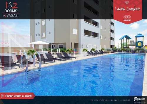 Apartamento, código 363 em Praia Grande, bairro Tupi