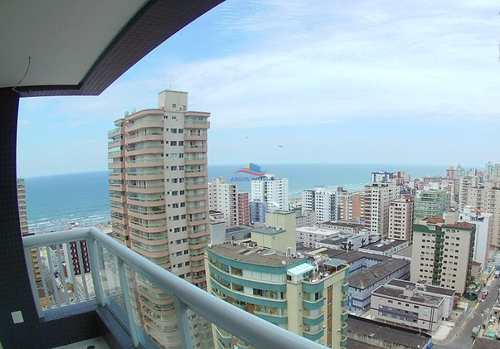 Apartamento, código 473 em Praia Grande, bairro Tupi