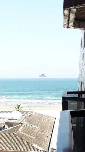 Apartamento, código 571 em Praia Grande, bairro Guilhermina