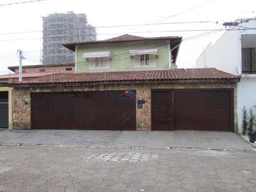 Sobrado, código 1043 em Praia Grande, bairro Canto do Forte
