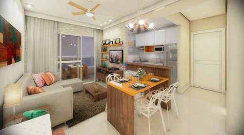 Apartamento, código 2901 em Praia Grande, bairro Guilhermina