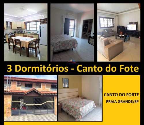 Casa, código 3748 em Praia Grande, bairro Canto do Forte