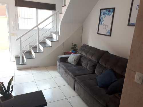 Casa de Condomínio, código 5462 em Praia Grande, bairro Aviação