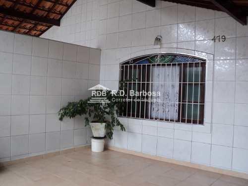 Casa, código 12 em Praia Grande, bairro Maracanã