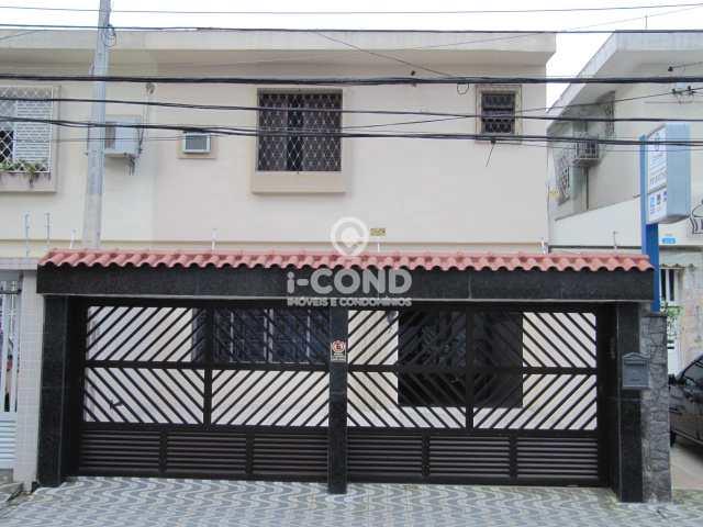 Sobrado em Santos, no bairro Gonzaga