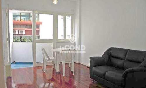 Apartamento, código 55540310 em Santos, bairro Aparecida