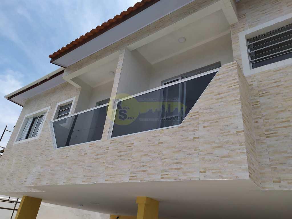 Casa de Condomínio em Praia Grande, no bairro Anhanguera