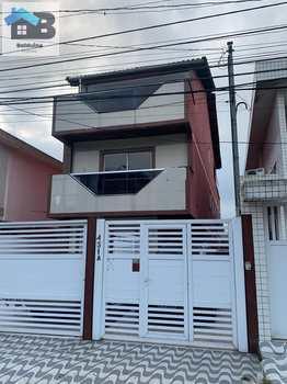 Casa, código 27 em São Vicente, bairro Vila São Jorge