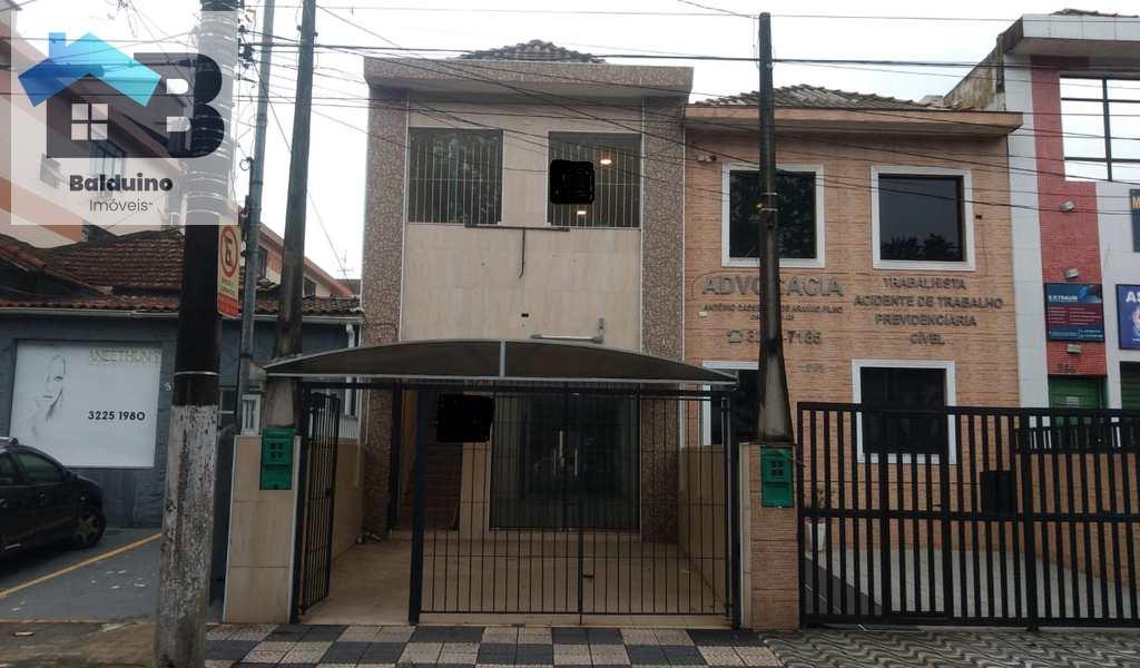 Sobrado Comercial em Santos, bairro Marapé