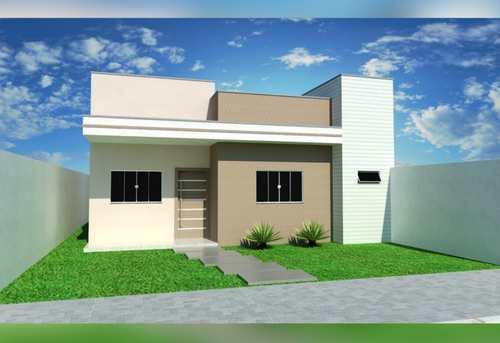 Casa, código 194 em Primavera do Leste, bairro Vertentes das Águas
