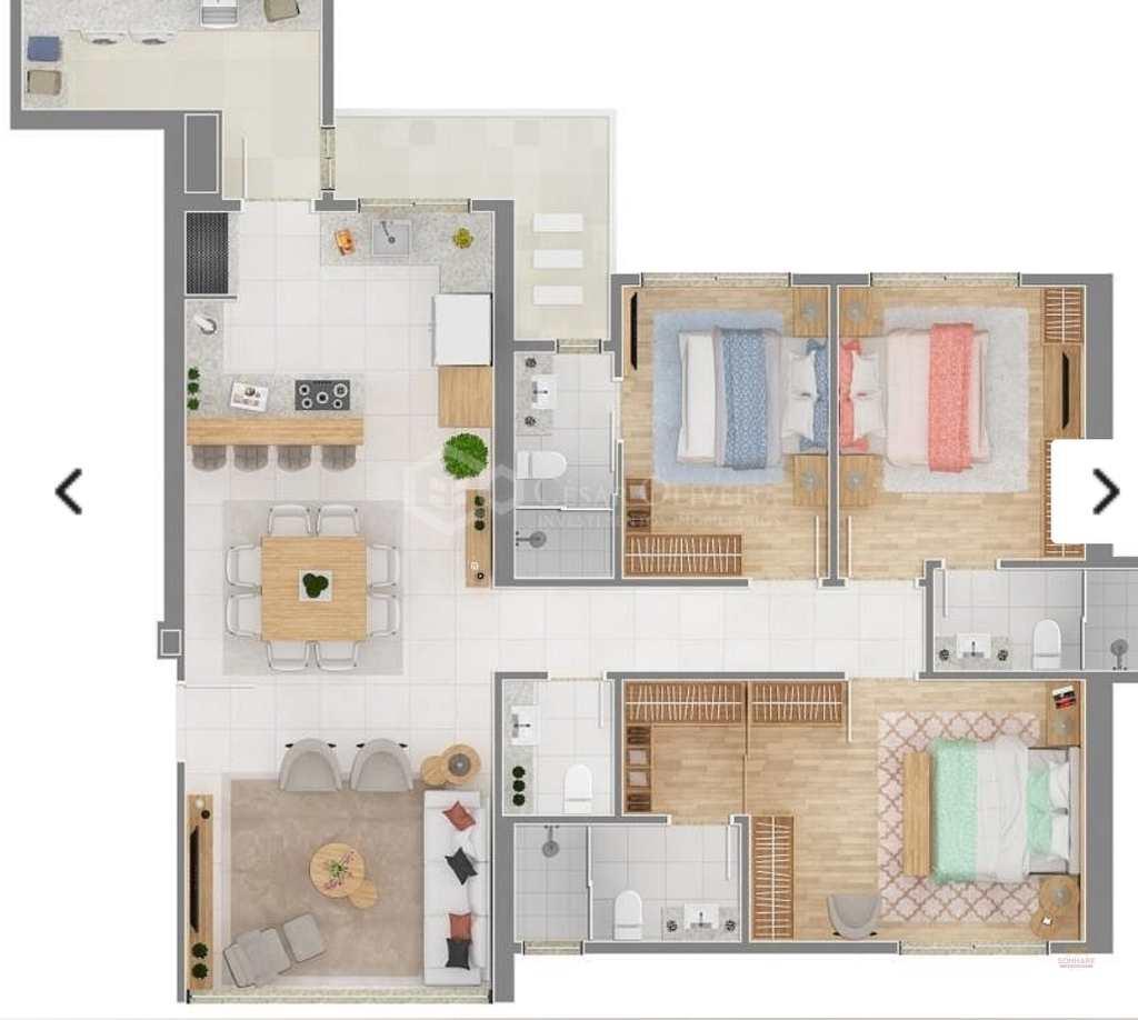 Apartamento em Balneário Camboriú, no bairro Centro