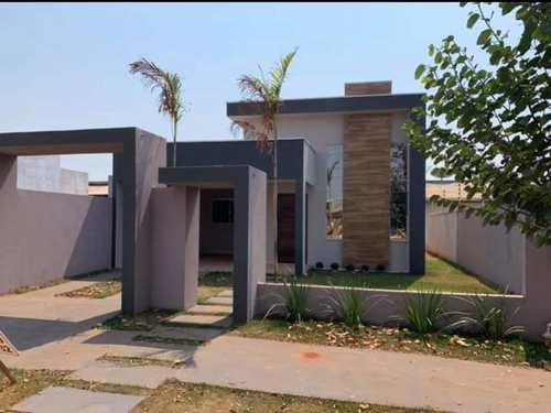 Casa, código 400 em Primavera do Leste, bairro Buritis V