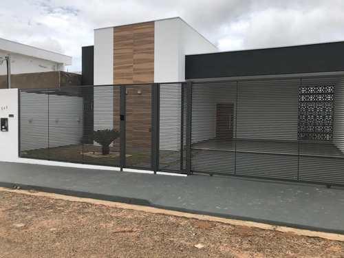 Casa, código 408 em Primavera do Leste, bairro Poncho Verde III - 4ª Ampliação