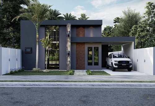 Casa, código 469 em Primavera do Leste, bairro Vertentes das Águas