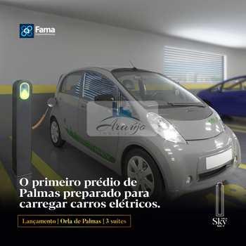 Apartamento, código 410 em Palmas, bairro Graciosa - Orla 14
